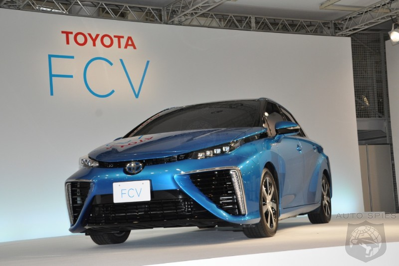 STUD or DUD: Toyota REVEALS Its FIRST Fuel Cell Sedan — Is It Quirky Or TOO WEIRD To Put In YOUR Driveway?